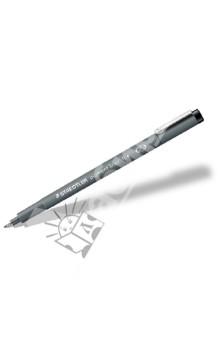 Капиллярная ручка Pigment Liner 0,4 мм, черный (30804-902) STAEDTLER