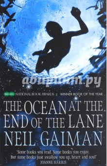 Ocean at the End of the LaneХудожественная литература на англ. языке<br>The Ocean at the End of the Lane is a fable that reshapes modern fantasy: moving, terrifying and elegiac - as pure as a dream, as delicate as a butterfly s wing, as dangerous as a knife in the dark, from storytelling genius Neil Gaiman. It began for our narrator forty years ago when the family lodger stole their car and committed suicide in it, stirring up ancient powers best left undisturbed. Dark creatures from beyond the world are on the loose, and it will take everything our narrator has just to stay alive: there is primal horror here, and menace unleashed - within his family and from the forces that have gathered to destroy it. His only defence is three women, on a farm at the end of the lane. The youngest of them claims that her duckpond is ocean. The oldest can remember the Big Bang.<br>