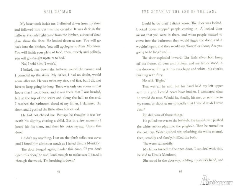 Иллюстрация 1 из 10 для Ocean at the End of the Lane - Neil Gaiman   Лабиринт - книги. Источник: Лабиринт
