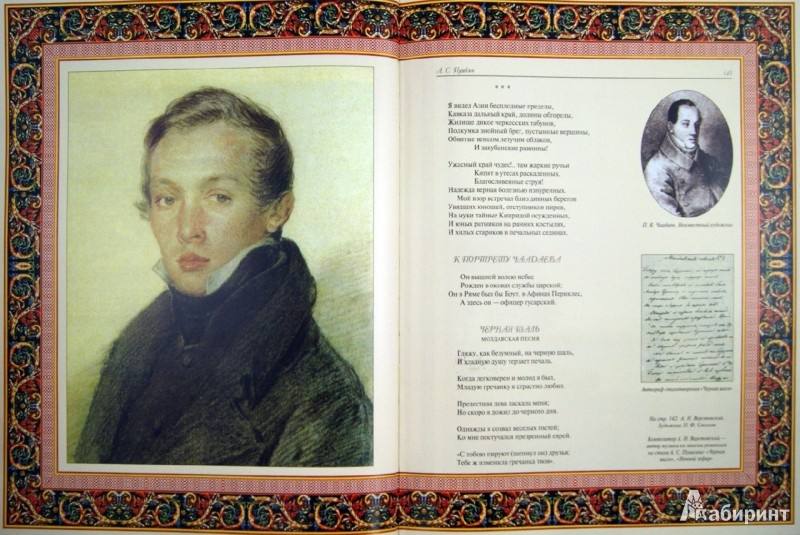 Иллюстрация 1 из 7 для Избранное (кожа) - Александр Пушкин   Лабиринт - книги. Источник: Лабиринт
