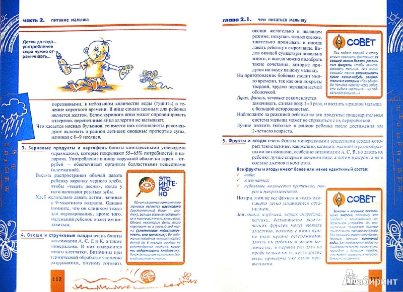 Иллюстрация 1 из 15 для Ваш малыш от рождения до года. Развитие и воспитание ребенка | Лабиринт - книги. Источник: Лабиринт