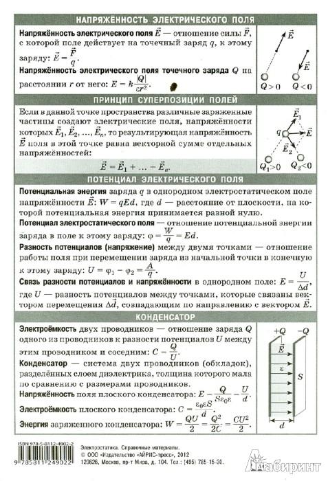 Иллюстрация 1 из 6 для Электростатика | Лабиринт - книги. Источник: Лабиринт