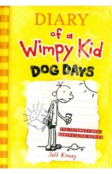 Diary of a Wimpy Kid. Dog DaysИзучение иностранного языка<br>It s summer vacation, the weather s great, and all the kids are having fun outside. So where s Greg Heffley? Inside his house, playing video games with the shades drawn. <br>Greg, a self-confessed indoor person, is living out his ultimate summer fantasy: no responsibilities and no rules. But Greg s mom has a different vision for an ideal summer... one packed with outdoor activities and family togetherness. <br>Whose vision will win out? Or will a new addition to the Heffley family change everything?<br>