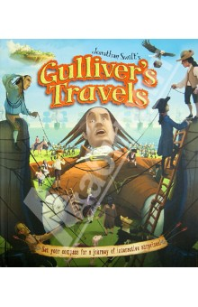 Jonathan Swifts Gullivers TravelsХудожественная литература на англ. языке<br>After a shipwreck strands him far from home, ship s surgeon Lemuel Gulliver embarks on a series of remarkable adventures. From the tiny but fierce Lilliputians to the horselike Houyhnhnms and unruly Yahoos, the incredible things Gulliver encounters will spark children s imaginations. Special features include: o Gulliver s Travel Guide to the kingdoms he visits o Mini booklet about the people and customs of Lilliput o Flap for a pop-up traveling box o Pull-tab flying island that moves o Slider showing ghosts appearing o A spectacular pop-up ship<br>