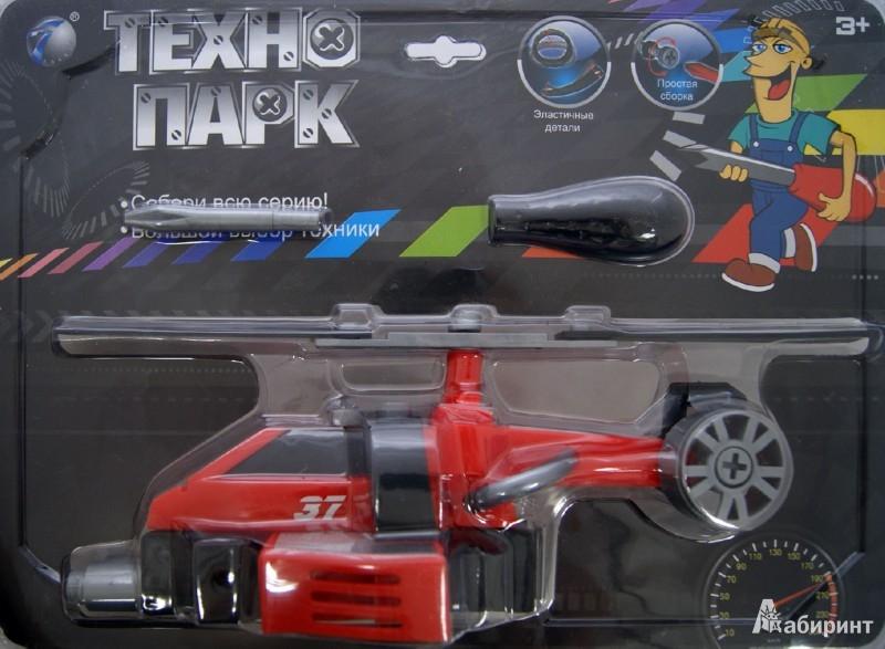 Иллюстрация 1 из 2 для Развивающий конструктор ТЕХНОПАРК, вертолет (В72175) | Лабиринт - игрушки. Источник: Лабиринт