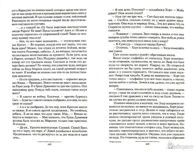Иллюстрация 1 из 10 для Братство меча. Чужая война. Принцип вмешательства - Юлия Баутина   Лабиринт - книги. Источник: Лабиринт