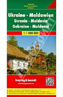 Украина. Молдова.Карта. Ukraine.Moldova 1: 1000000Атласы и карты мира<br>Издание представляет собой карту Украины и Молдовы (масштаб 1:1000000). Включает подробную карту стран, указатели областей и городов, а также полезную информацию для туристов.<br>