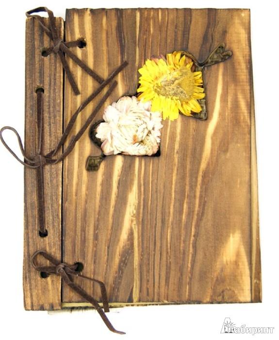 Иллюстрация 1 из 4 для Блокнот с деревянной обложкой (070151) | Лабиринт - канцтовы. Источник: Лабиринт