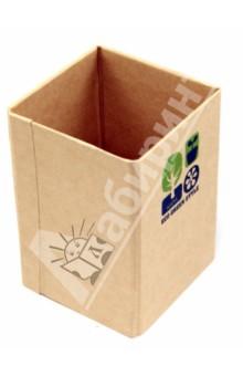 Подставка для письменных принадлежностей (070171)Подставки, стаканы<br>Подставка для письменных принадлежностей.<br>Размер: 105 х 75 х 75 мм.<br>Материал: плотный картон.<br>Сделано в Китае.<br>