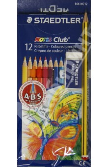 "��������� 12 ������ + 1 �������������� + ������ ""Noris Club"" (61SET610) STAEDTLER"