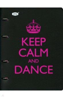 """Тетрадь со сменным блоком """"Dance"""" (120 листов, клетка) (83323)"""