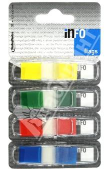Клейкие закладки пластиковые, 4 цвета, 12,5х43 мм, по 36 листов (7727-82)Бумага для записей с липким слоем<br>Теперь благодаря удобному диспенсеру закладки-выделители всегда под рукой. <br>4 цвета по 36 листов.<br>Размер: 12,5х43 мм.<br>Удобно пользоваться, легко хранить.<br>Не токсично, гипоалергенно.<br>Возможно многократное использование<br>Безопасно для детей<br>Удобный диспенсер<br>Упаковка с европодвесом.<br>Сделано в Германии.<br>