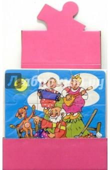 Мягкий пазл / блок-18 штук (розовый)
