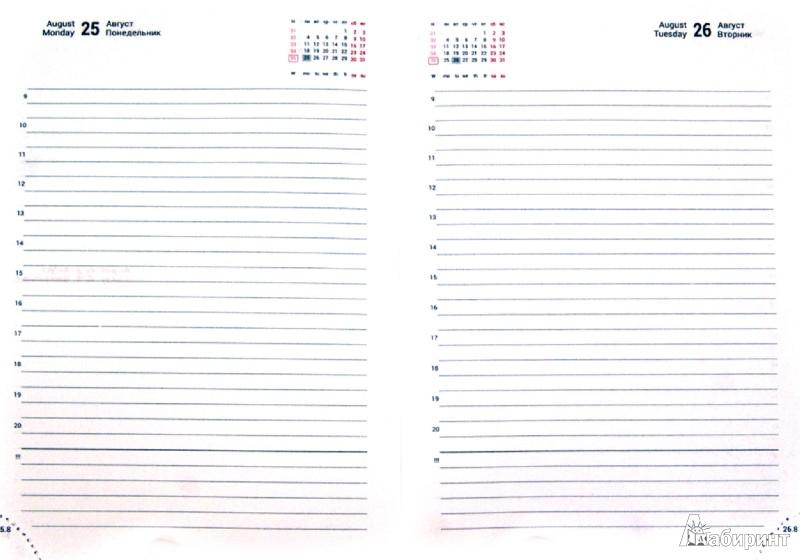 """Иллюстрация 1 из 15 для Ежедневник A6+ на 2014 г. """"Tesoro"""" (PF-6D141394-16)   Лабиринт - канцтовы. Источник: Лабиринт"""