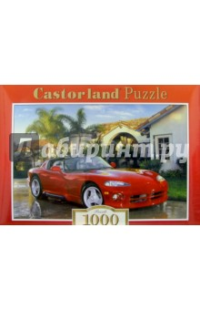 Puzzle-1000. Автомобиль Dodge (С-100606)