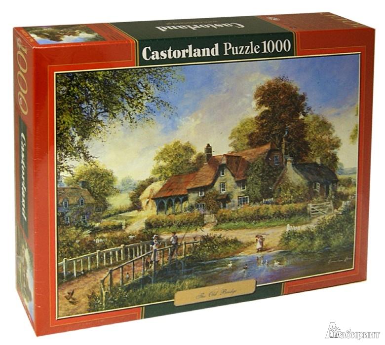 """Иллюстрация 1 из 20 для Puzzle-1000 """"Старый мост"""" (C-102860)   Лабиринт - игрушки. Источник: Лабиринт"""