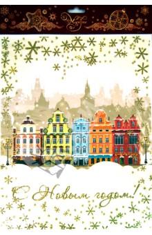 Украшение новогоднее оконное С Новым Годом (31253)