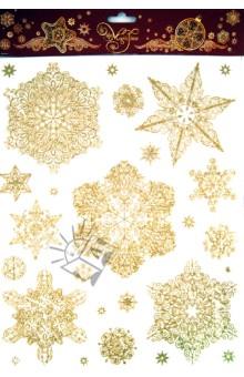 Украшение новогоднее оконное Снежинки (31247) Феникс-Презент