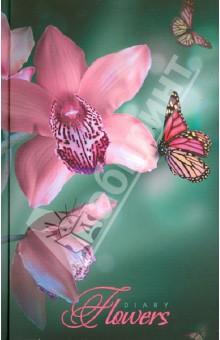 """Ежедневник недатированный """"Цветы. Прекрасные орхидеи"""" (ЕЖ14512809)"""