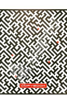 """Тетрадь в клетку """"Черно-белый орнамент"""". 48 листов. А5 (ТК483871)"""