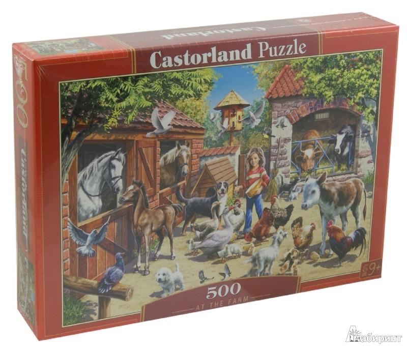 """Иллюстрация 1 из 2 для Puzzle-500 """"Ферма"""" (B-51908)   Лабиринт - игрушки. Источник: Лабиринт"""