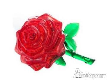 """Иллюстрация 1 из 4 для Кристальные 3D пазлы """"Роза"""" (YT212877)   Лабиринт - игрушки. Источник: Лабиринт"""