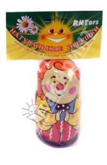 Матрешка 3 в 1 Клоун Эмоции (Д-557)Другие игрушки для малышей<br>Вашему вниманию представляется матрешка 3 в 1 Клоун Эмоции (6 эмоций).<br>Цель данной игрушки помочь вашему ребенку развить мелкую моторику, координацию движений, познакомить с понятиями большой-маленький<br>Для детей от 3-х лет.<br>Сделано в России.<br>