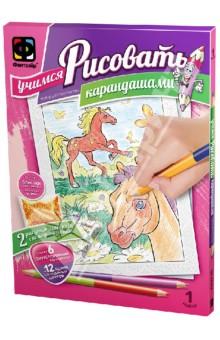 Учимся рисовать карандашами. Набор №1 (347010)