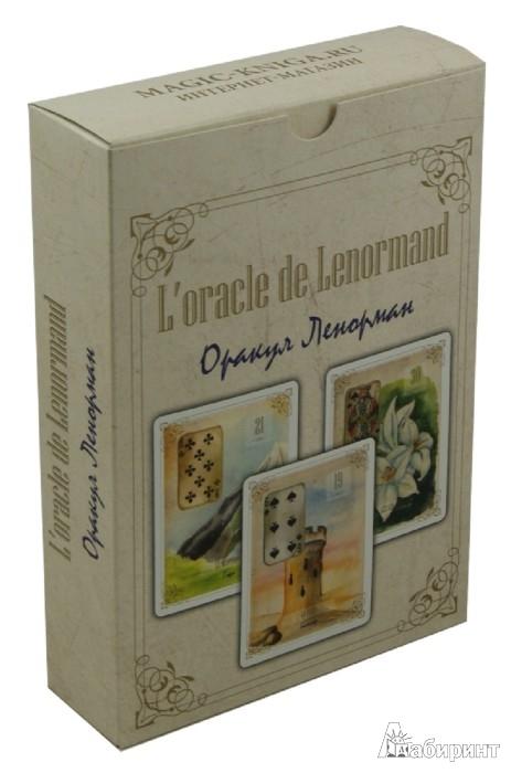 Иллюстрация 1 из 3 для Оракул Ленорман. Золотые цветы (54 карты) | Лабиринт - книги. Источник: Лабиринт