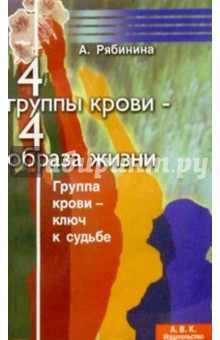 Рябинина А. 4 группы крови-4 образа жизни