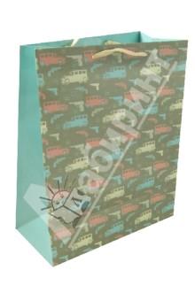 Пакет бумажный для сувенирной продукции 26x32.4x12.7 (32824)