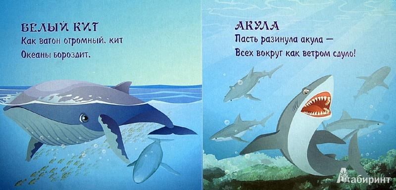 Иллюстрация 1 из 9 для Морские обитатели - Наталья Курлат   Лабиринт - книги. Источник: Лабиринт