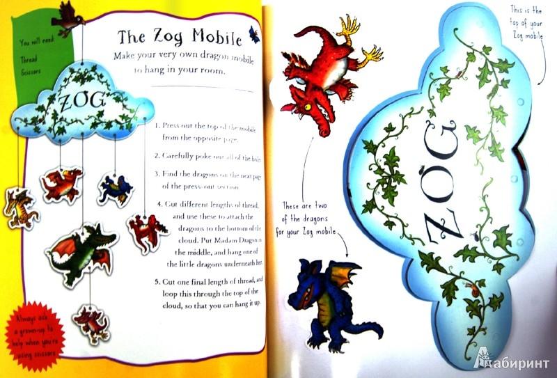 Иллюстрация 1 из 6 для Zog Activity Book - Julia Donaldson | Лабиринт - книги. Источник: Лабиринт