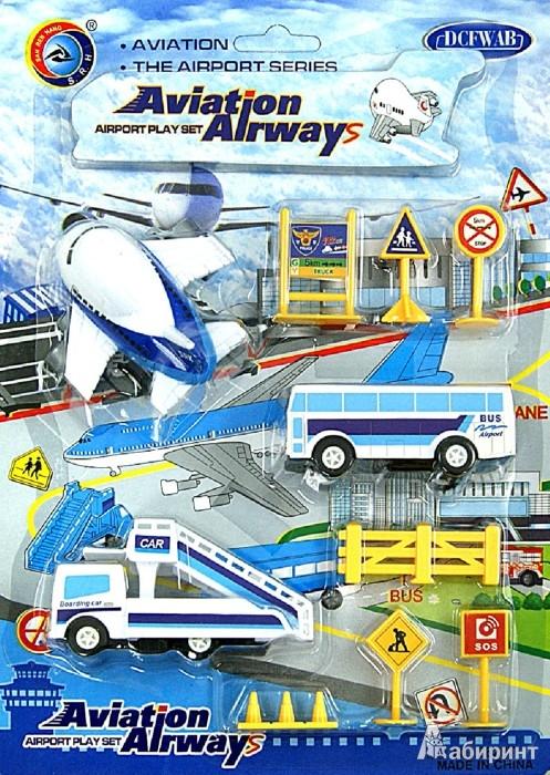 """Иллюстрация 1 из 4 для Набор инерционных машинок """"Aviation Airways"""" (2828Т)   Лабиринт - игрушки. Источник: Лабиринт"""