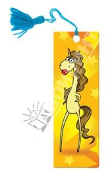 """Сувенир. 3D-закладка """"Длинноногая лошадка"""" (52129)"""