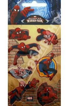 """Наклейки детские """"Marvel. 3D Человек-паук 2"""" (DsD05) Липуня"""