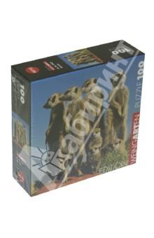 Puzzle-100 mini Суслики (29631)Пазлы (100-170 элементов)<br>Пазлы-мозаика.<br>Правила игры: вскрыть упаковку и собрать игру по картинке.<br>Кол-во элементов: 100 <br>Размер собранной картинки: 20х20 см.<br>Сделано в Чехии.<br>