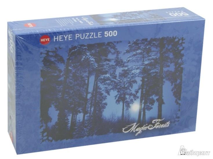 """Иллюстрация 1 из 2 для Puzzle-500 """"Полнолуние в лесу"""" (29625)   Лабиринт - игрушки. Источник: Лабиринт"""