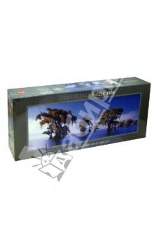 Puzzle-1000 Затопленные кипарисы (29607)Пазлы (1000 элементов)<br>Пазл-мозаика.<br>Количество элементов: 1000<br>Размер собранной картинки: 94х33 см.<br>Материал: картон<br>Упаковка: картонная коробка.<br>Сделано в Германии.<br>