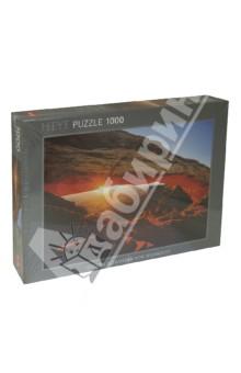 Puzzle-1000 Горная арка (29594)Пазлы (1000 элементов)<br>Пазл-мозаика.<br>Количество элементов: 1000<br>Размер собранной картинки: 70x50 см.<br>Материал: картон<br>Упаковка: картонная коробка.<br>Сделано в Германии.<br>
