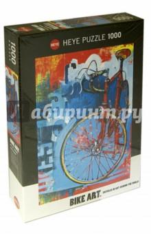 Puzzle-1000 Bike (29600)Пазлы (1000 элементов)<br>Пазл-мозаика.<br>1000 элементов.<br>Размер: 50х70 см<br>Упаковка: картонная коробка<br>Материал: картон<br>Производство: Германия.<br>