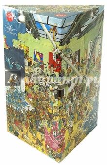 Puzzle-2000 Выставка (29635)Пазлы (2000 элементов и более)<br>Пазл-мозаика.<br>Правила игры: вскрыть упаковку и собрать игру по картинке.<br>Кол-во элементов: 2000 <br>Размер собранной картинки: 97х69 см.<br>Сделано в Чехии.<br>