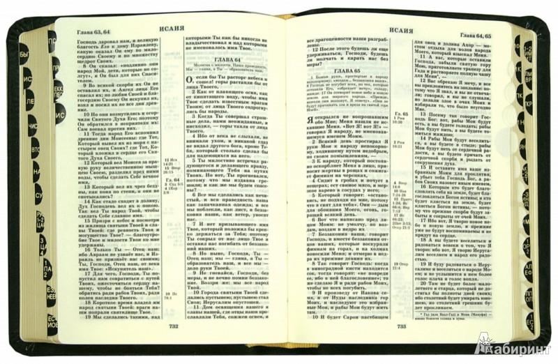 Иллюстрация 1 из 5 для Библия. Книги Священного Писания Ветхого и Нового Завета. Канонические   Лабиринт - книги. Источник: Лабиринт
