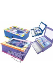 Набор подарочный Мозаика (TZ 9401)Офисные наборы (настольные)<br>Набор подарочный Мозаика<br>В наборе: 5 конвертов, 10 листов для письма, шариковая ручка.<br>Производство: Китай<br>