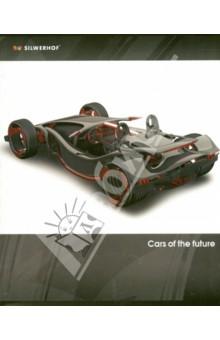 """Тетрадь """"Cars of the futur"""" (48 листов, клетка, в ассортименте) (811303-55)"""