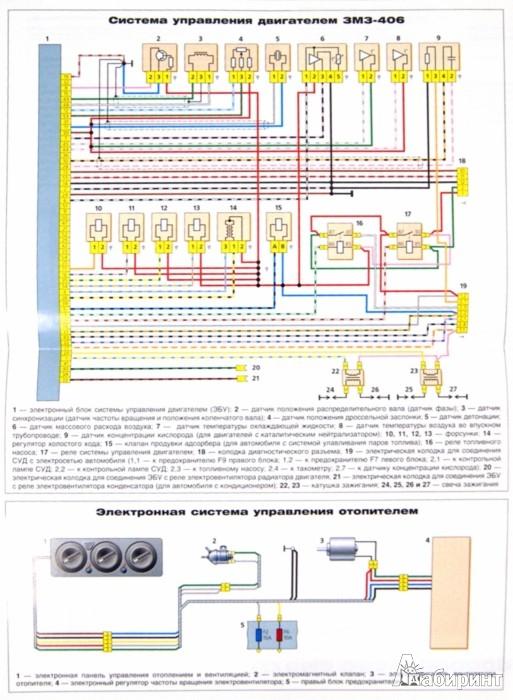 электро схема топливной системы газель бизнес