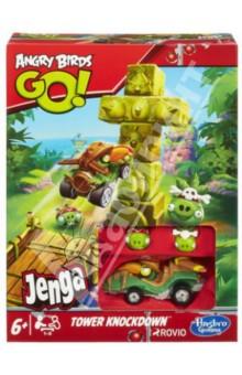 Настольная игра Angry Birds. Разрушение башни (А6437Н)