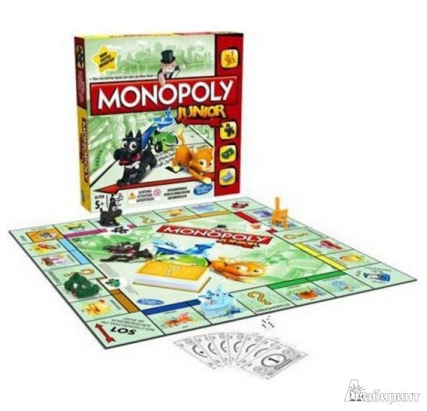 Иллюстрация 1 из 18 для Игра Моя первая монополия (А6984Н) | Лабиринт - игрушки. Источник: Лабиринт
