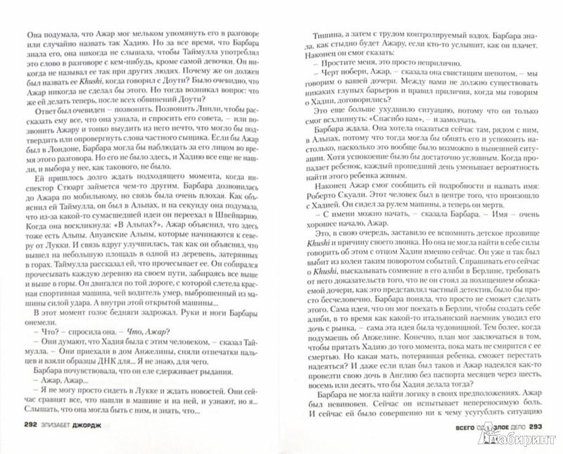 Иллюстрация 1 из 14 для Всего одно злое дело - Элизабет Джордж | Лабиринт - книги. Источник: Лабиринт