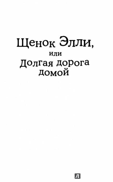Иллюстрация 1 из 40 для Щенок Элли, или Долгая дорога домой - Холли Вебб   Лабиринт - книги. Источник: Лабиринт